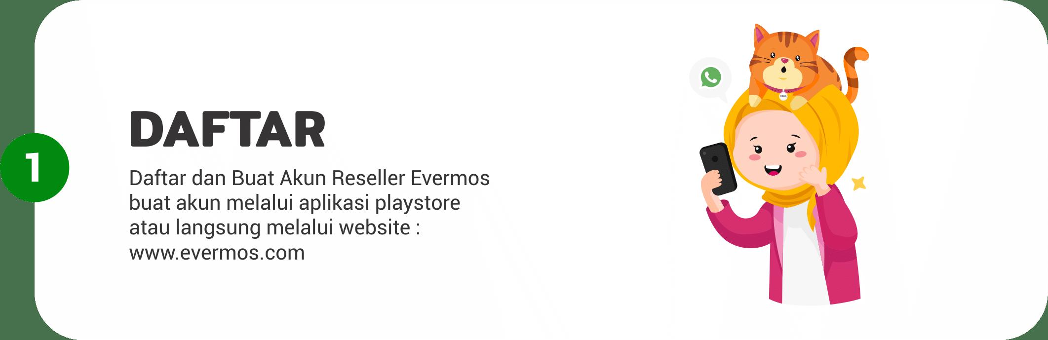 Reseller Evermos